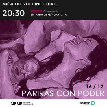 Cine Debate: este miércoles, 'Parirás con Poder'