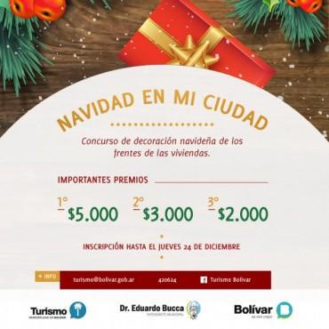 Hasta el 24 hay tiempo para el concurso de decoración navideña en viviendas particulares