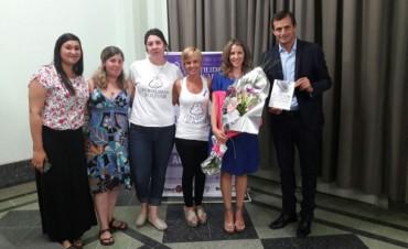 Este jueves por la noche se presentó el libro 'El deseo más grande del mundo', junto a su autora Luciana Mantero