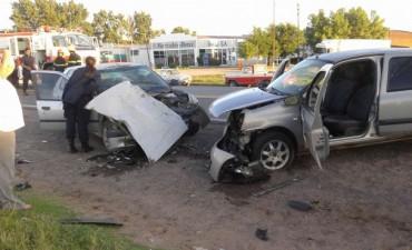 Tres heridos, uno grave, en accidente registrado esta mañana en la Ruta Nacional 226