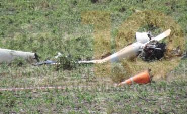 Cayó un planeador en la zona rural, y murió el piloto