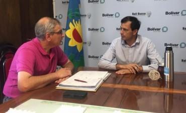 El intendente Bucca se reunió con el Secretario de Desarrollo Humano para tratar nuevas ideas sobre el programa