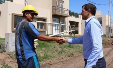 Avanza el Desarrollo Urbanístico de 181 viviendas de ProCreAr