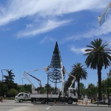 #NavidadJuntos: Esta noche se encenderá el arbolito en el Centro Cívico