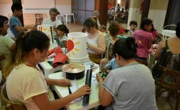 Dirección de Cultura: Se dictó un taller de 'Construcción de Instrumentos Musicales'
