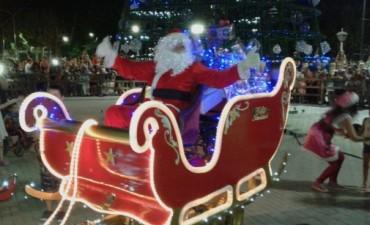 Hoy 'Papá Noel' llega desde el cielo