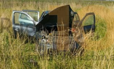 Vuelco en la Ruta Nacional 226: Una mujer fue derivada al Hospital 'Capredoni'