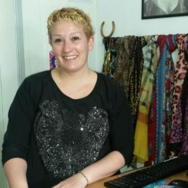 Eugenia Badano de 'Cuestión de Actitud' saludó a todos sus clientes