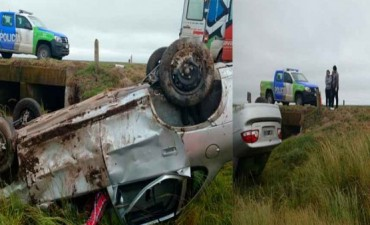 Este domingo: Fatal accidente en cercanías a Espigas, sobre Ruta 226