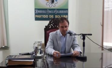 Asumió el nuevo cuerpo del Honorable Concejo Deliberante