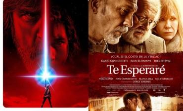 Llegó a los cines Star Wars Episodio 8 en 3D y Te esperaré