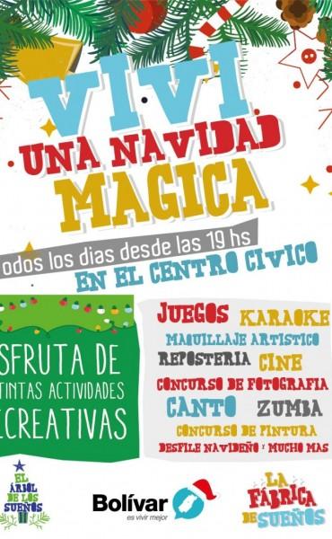 Viví unas tardes navideñas mágicas en el Centro Cívico