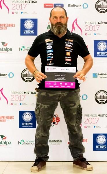 Gastón y Marcos Pando dentro de las ternas de los Premios Mística